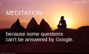 Google and meditation