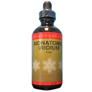 Monatomic Iridium 4 oz Bottles