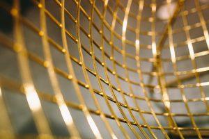 gold lattice - monatomic orme
